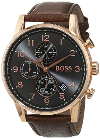 Amazon.com: Boss NAVIGATOR CLASSIC 1513496 Mens Chronograph Classic & Simple: Hugo Boss: Watches