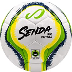 Senda Rio Premium Training Low-Bounce Futsal Ball, Fair Trade Certified