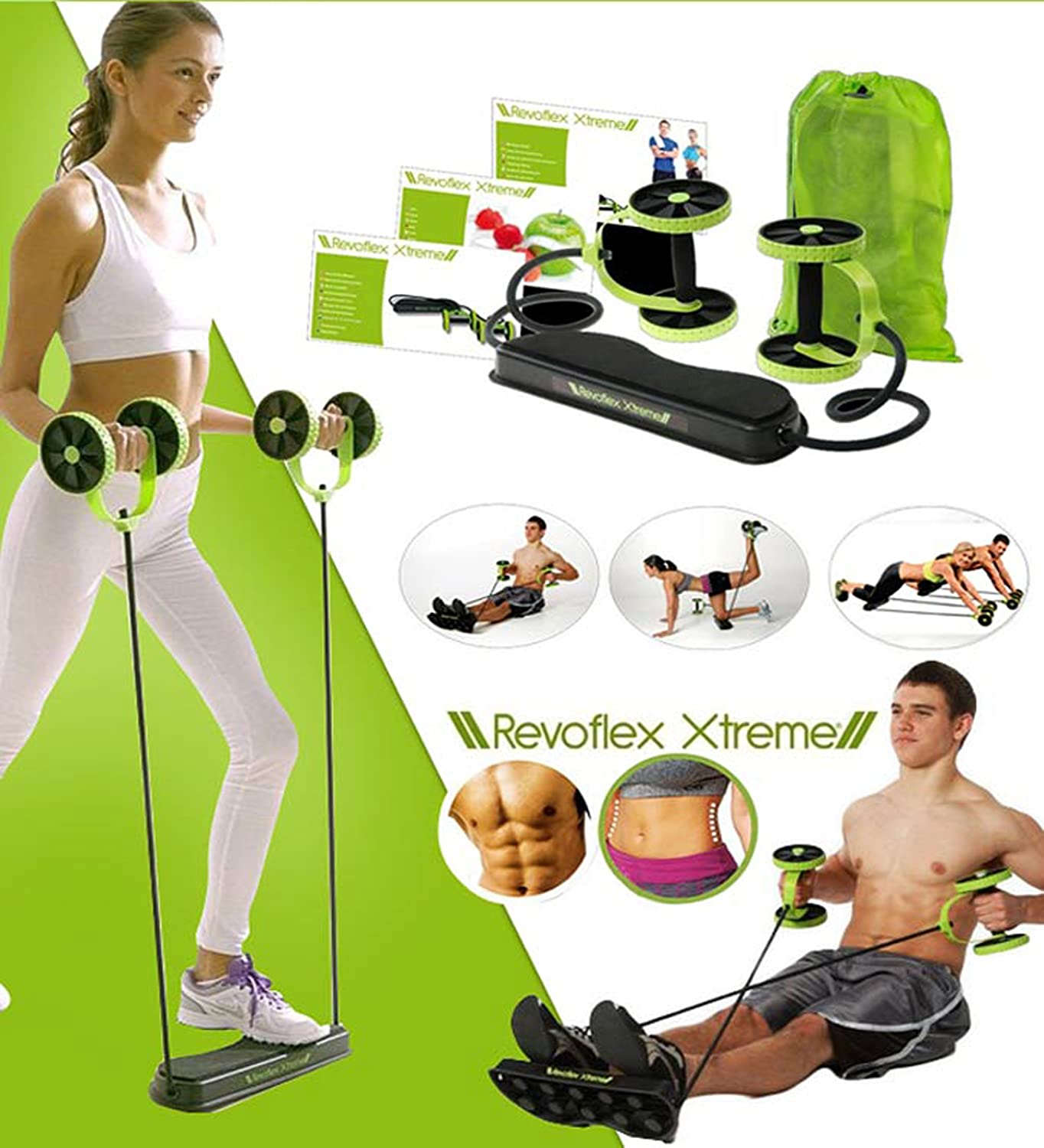 Abs Carver Ab-Roller Dual Wheel Trainer Pro Abdominal /& Stomach Exercise Training Fitness Equipment Core Waist Line Strength Shredder Home Gym Workout Machine with 5 Mode Training