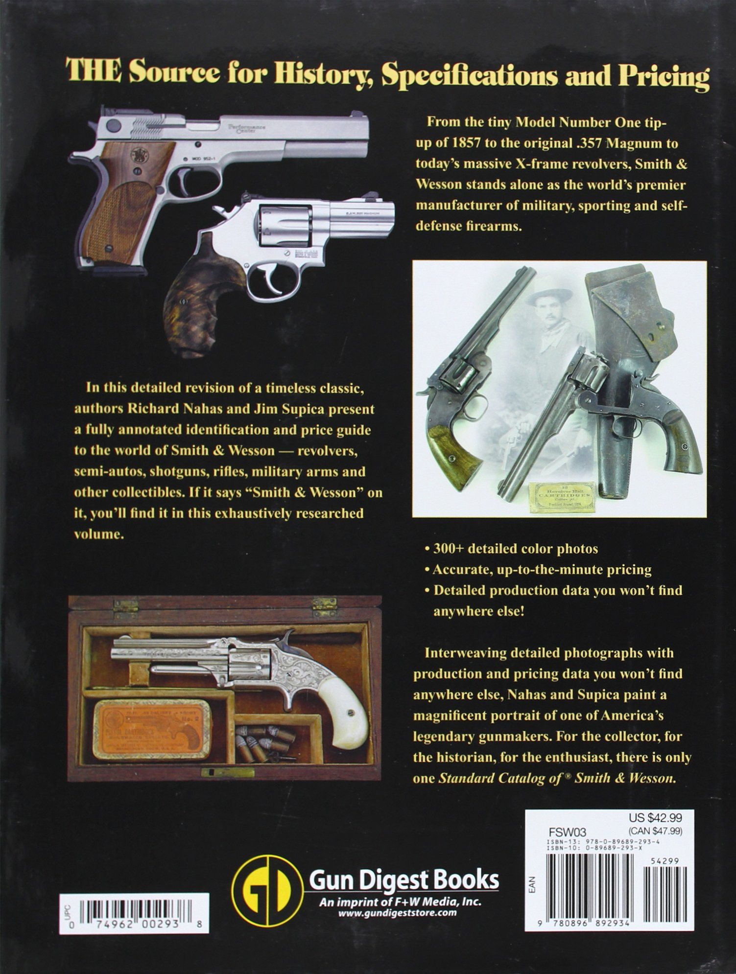 Standard Catalog Of Smith Wesson 0074962002938 Jim Amp Schematics Supica Richard Nahas Books