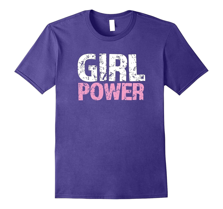 Girl Power Feminist T-Shirt-FL