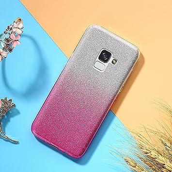 EINFFHO Galaxy J6 2018 Funda, Carcasa Samsung Galaxy J6 2018 ...