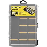 STANLEY STST81680-1 Organizador básico 17 compartimientos, transparente