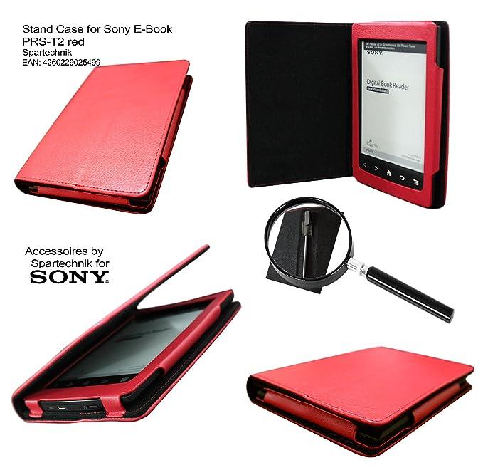 Spartechnik - Funda para e-reader Sony PRS-T2 (con función atril y ...