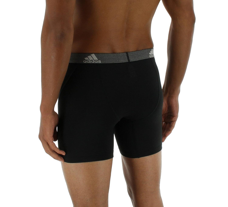 Adidas Hombre Relajado Performance Climalite Boxer Breve Ropa Interior (2 Unidades), Hombre, Scarlet/Black: Amazon.es: Deportes y aire libre