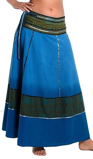 Falda Cruzada teñida al Batik - Falda Unisex de la India, 92 de ...