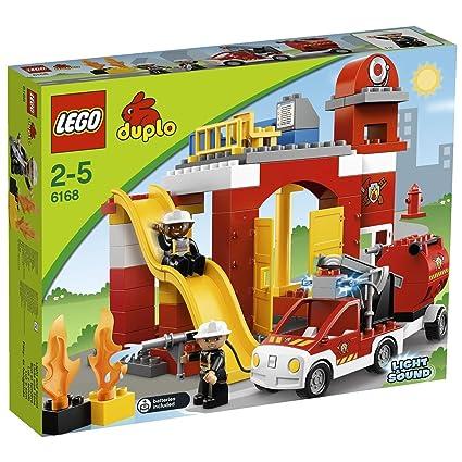 Onwijs LEGO Duplo 6168 - Feuerwehr-Hauptquartier: Amazon.de: Spielzeug VB-92
