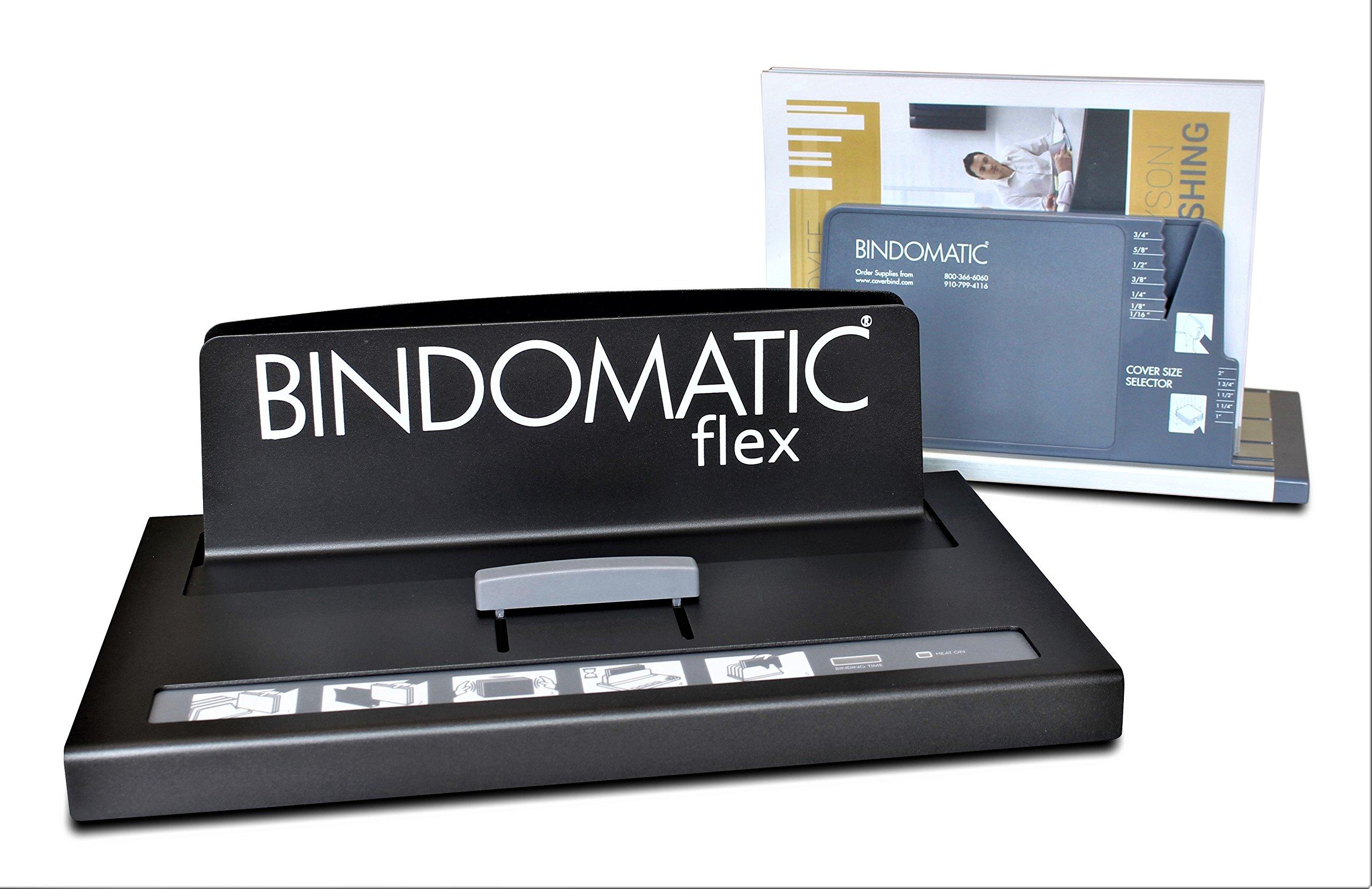 CoverBind: Bindomatic Accel Flex Thermal Binding Machine by Bindomatic