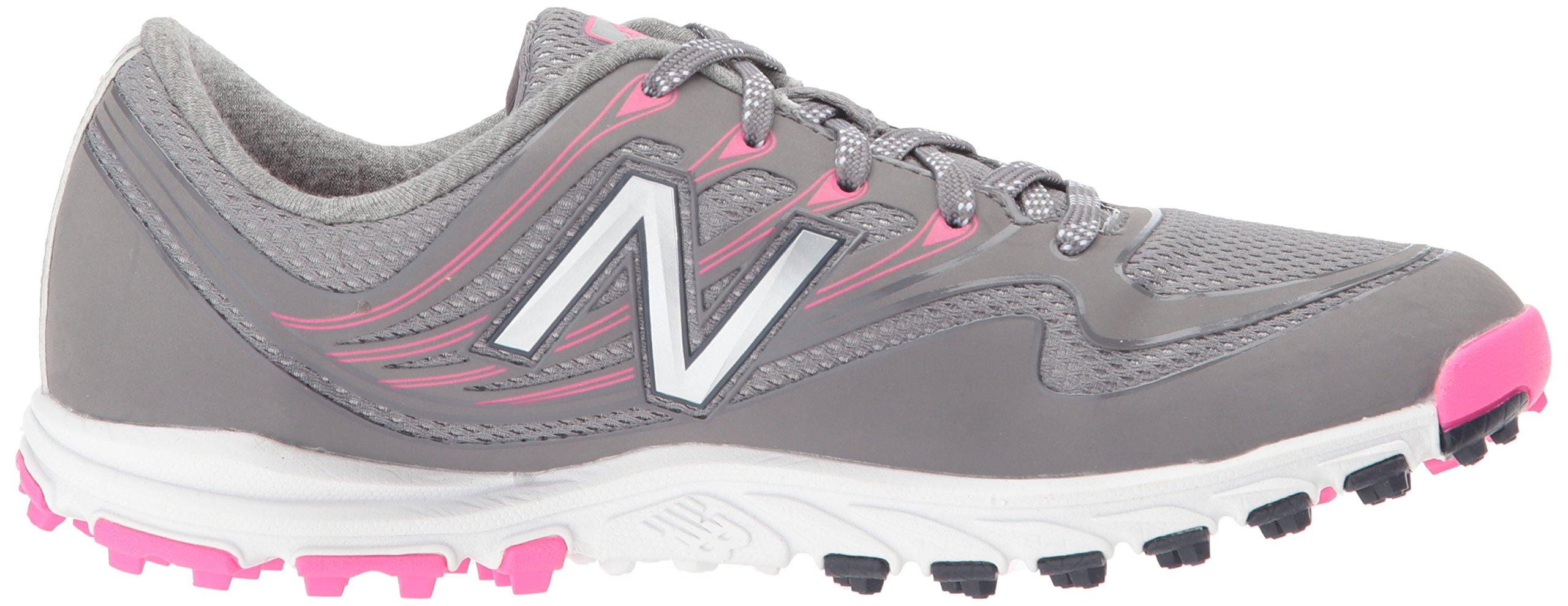 New Balance Women's Minimus Sport Golf Shoe, Pink/Grey, 7.5 B B US by New Balance (Image #7)
