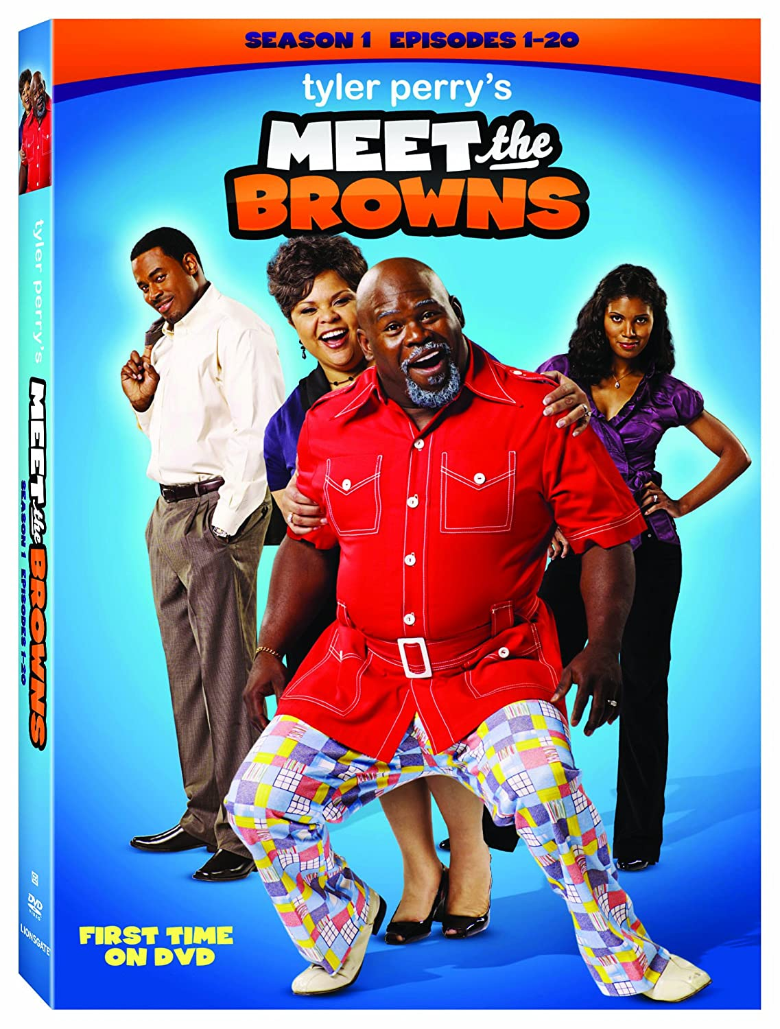 Amazon com: Meet The Browns: Season 1: David Mann, Tamela J