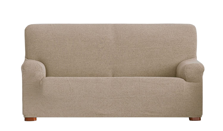 Eysa Dorian - Funda de sofá bielástica, 3 plazas, Color Tostado