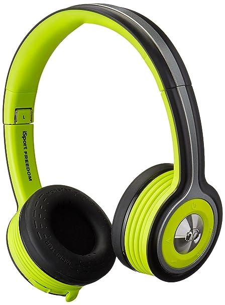 Monster iSport Freedom WL - Auriculares de diadema cerrados, color verde