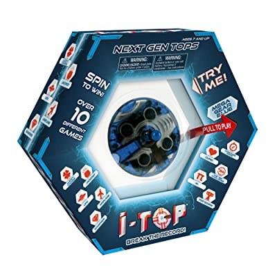 Goliath Games 85261 I-Top Game, Mega Gear Blue: Toys & Games