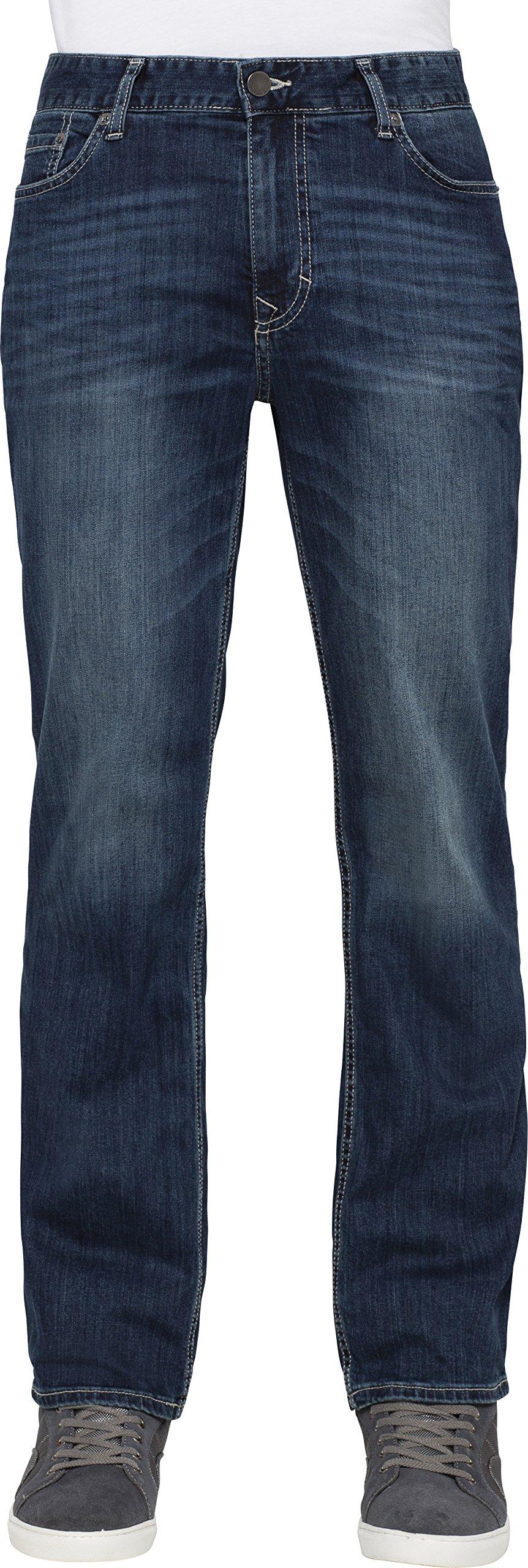Calvin Klein Jeans Men's Straight Leg Jean In Authentic Blue, Authentic Blue, 32x30