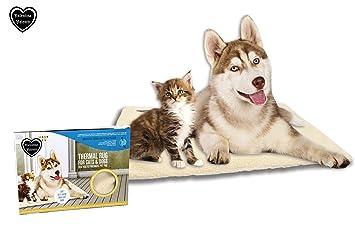 Valentina Valentti Self Calefacción térmica para Mascotas, Alfombra o Cama para Gatos y Perros Grandes, tamaño Grande: Amazon.es: Productos para mascotas