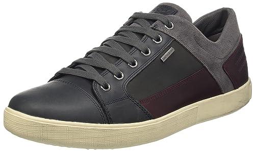 Hoodboyz Contre L'homme Noir À Faible Sneaker Blanc - Noir, 45 Eu