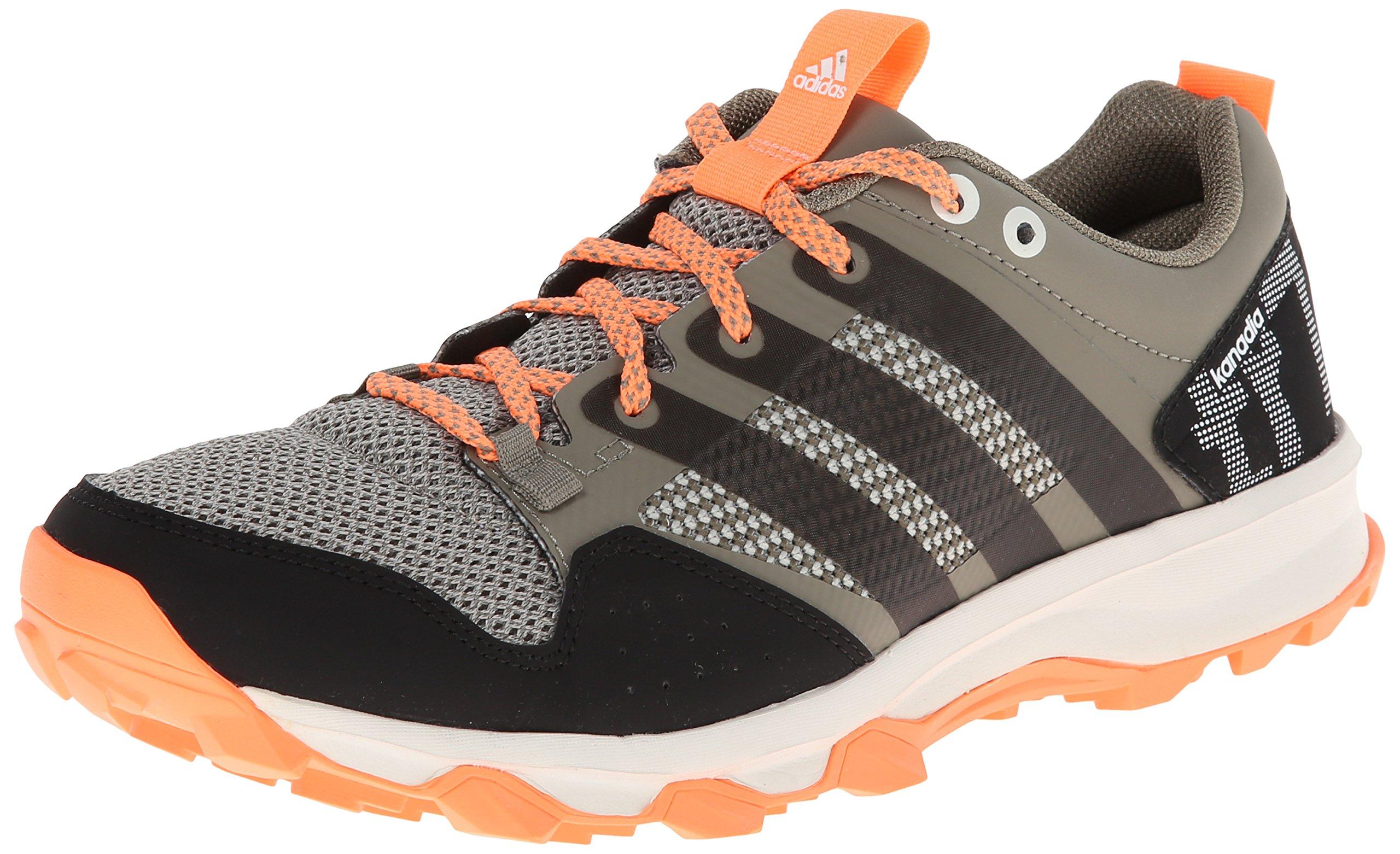 adidas Performance Women's Kanadia 7 TR W Trail Running Shoe, Clay/Chalk/Flash Orange, 7 M US by adidas (Image #1)