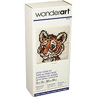 WonderArt - Juego de Ganchos para Cerrojo, Tiger Cub 12 X 12, Tiger Cub 12 x 12, 1