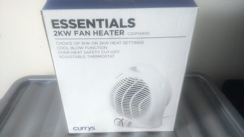 Currys Essentials 2KW Portable Fan
