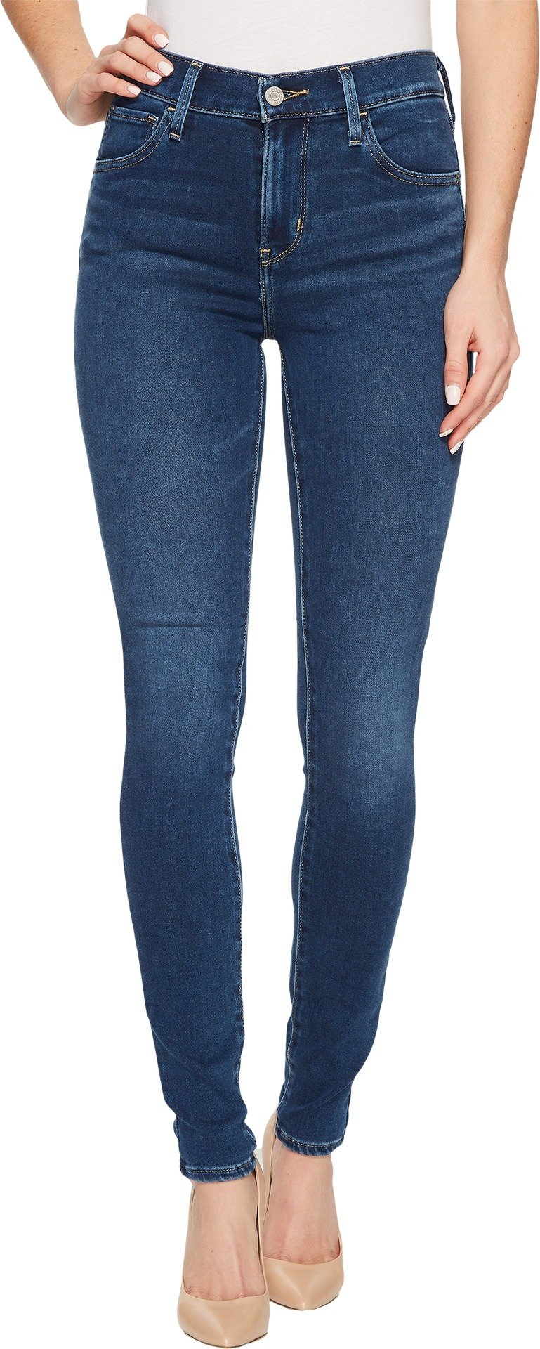 Levi's Women's 720 High Rise Super Skinny Jeans, Blue Me Away, 27 (US 4) R