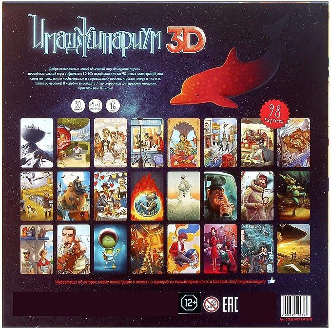 Juego de mesa ruso imaginario 3D Dixit: Amazon.es: Juguetes y juegos