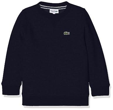 015aca5ab3 Lacoste Sport SJ2895, Sweat-Shirt Garçon, Bleu (Marine), 12 Ans ...