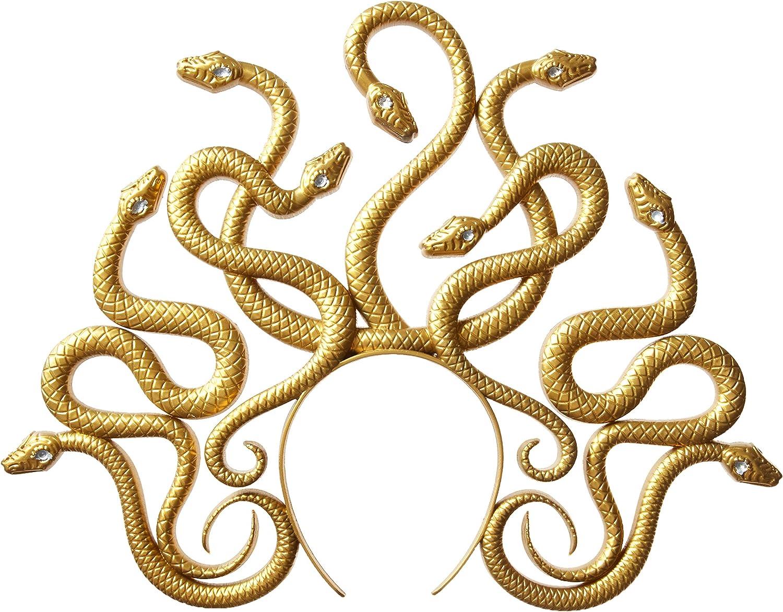 6 Ct. Adult Medusa Headband