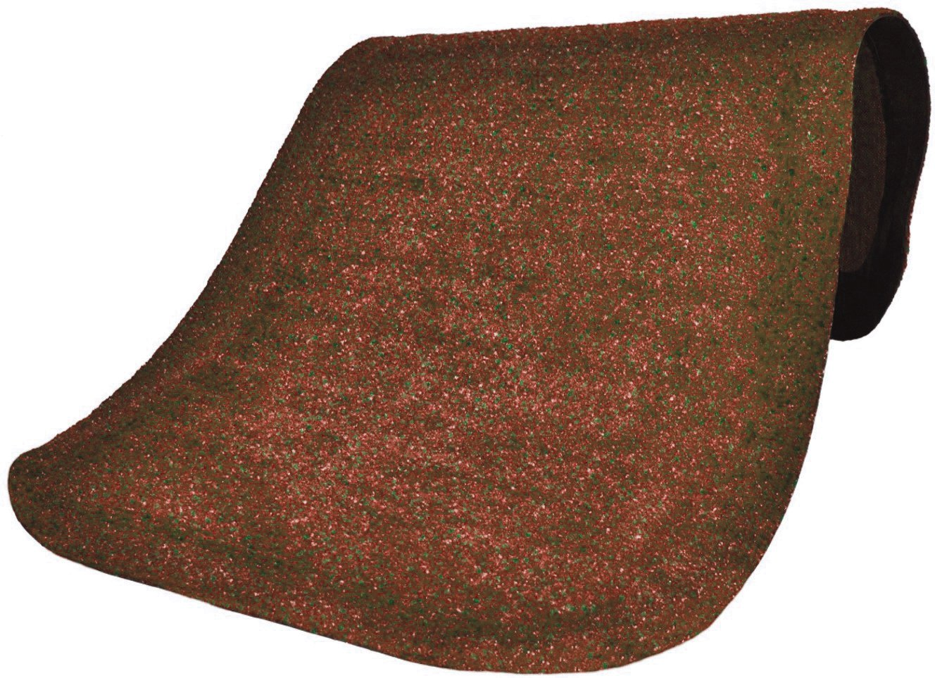 Andersen 446 Cinnamon Nylon Hog Heaven Plush Anti-Fatigue Mat, 5' Length x 3' Width x 5/8'' Thick, For Indoor