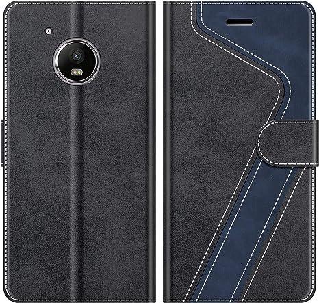 MOBESV Funda para Motorola Moto G5 Azul Funda Libro Motorola Moto G5 Funda M/óvil Motorola Moto G5 Magn/ético Carcasa para Motorola Moto G5 Funda con Tapa