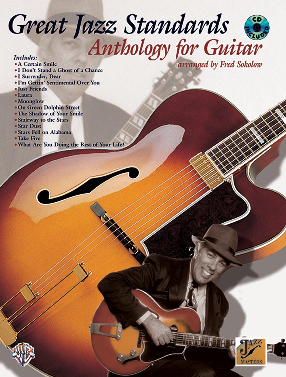 Great Jazz Standards Anthology For Guitar Popular Jazz Jazz Masters