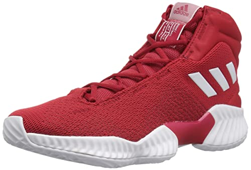 huge selection of 5796a e04db adidas Originals Men s Pro Bounce 2018 Basketball Shoe, Power Red White Power  Red