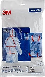 3M 4565+XXL - Tuta di protezione, categoria III, tipo di protezione 4/5/6, taglia XXL
