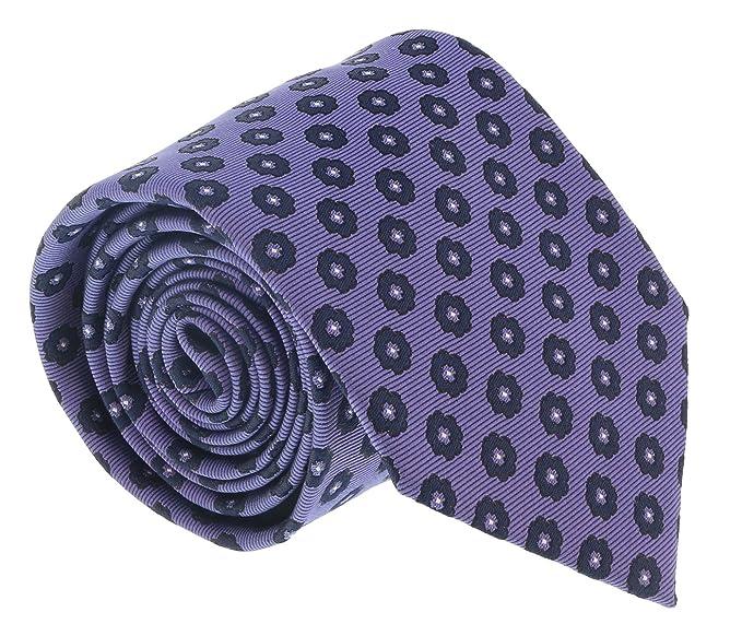 d4a17a6d Ermenegildo Zegna Purple Floral Medallion Tie for mens at Amazon ...