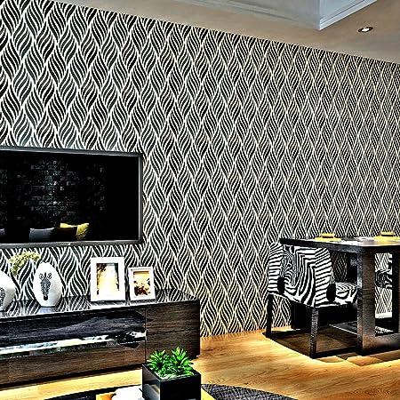 HANMERO® papel pintado autoadhesivo vintage rayas diseño para ...