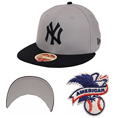 f1752862e4ada New Era 59Fifty Wool Standard New York Yankees Gray Navy Fitted at ...