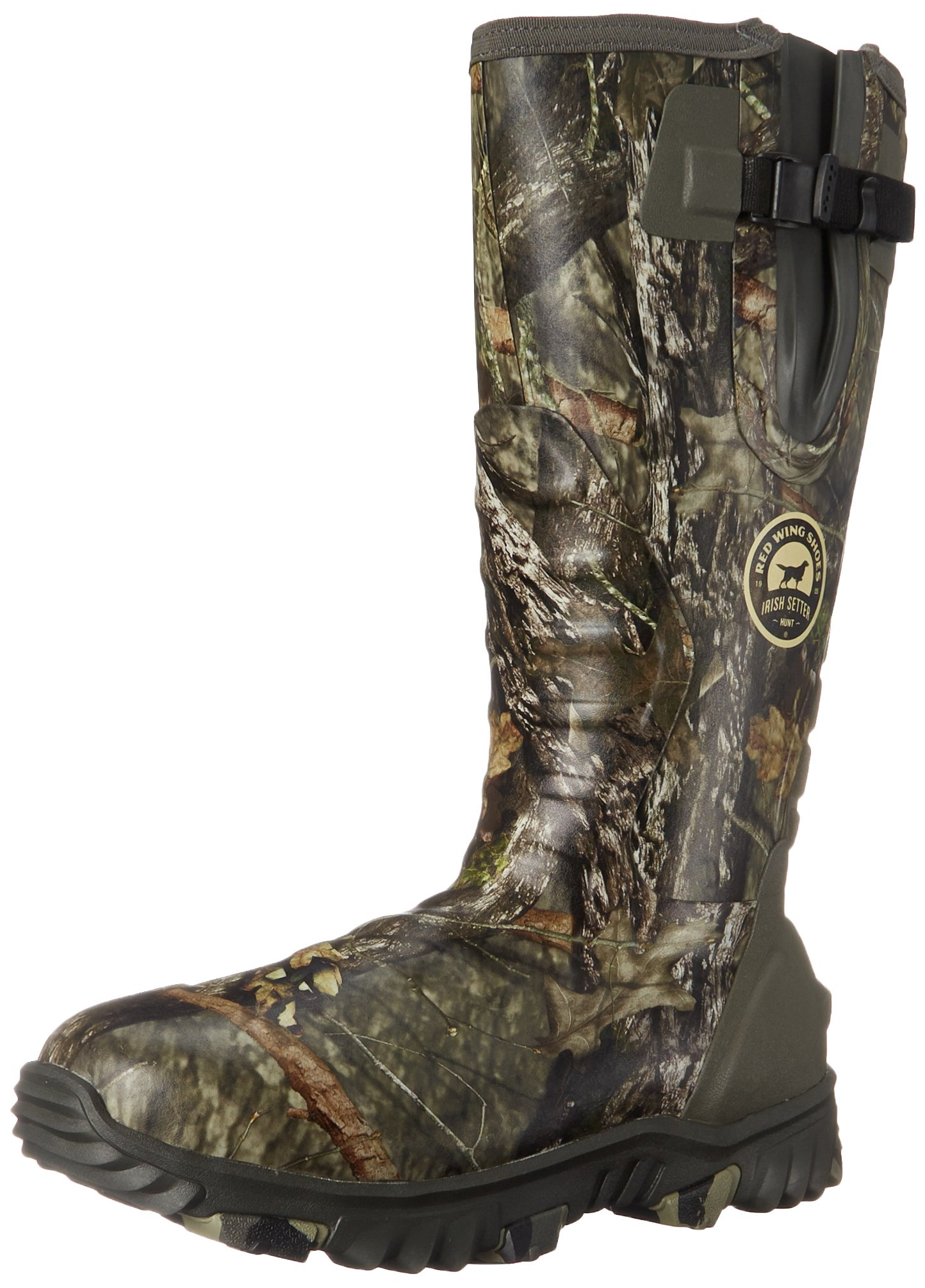 Irish Setter Men's 4883 Rutmaster 2.0 17'' 800-Gram Rubber Boot, Mod Country Camo, 14 E US by Irish Setter