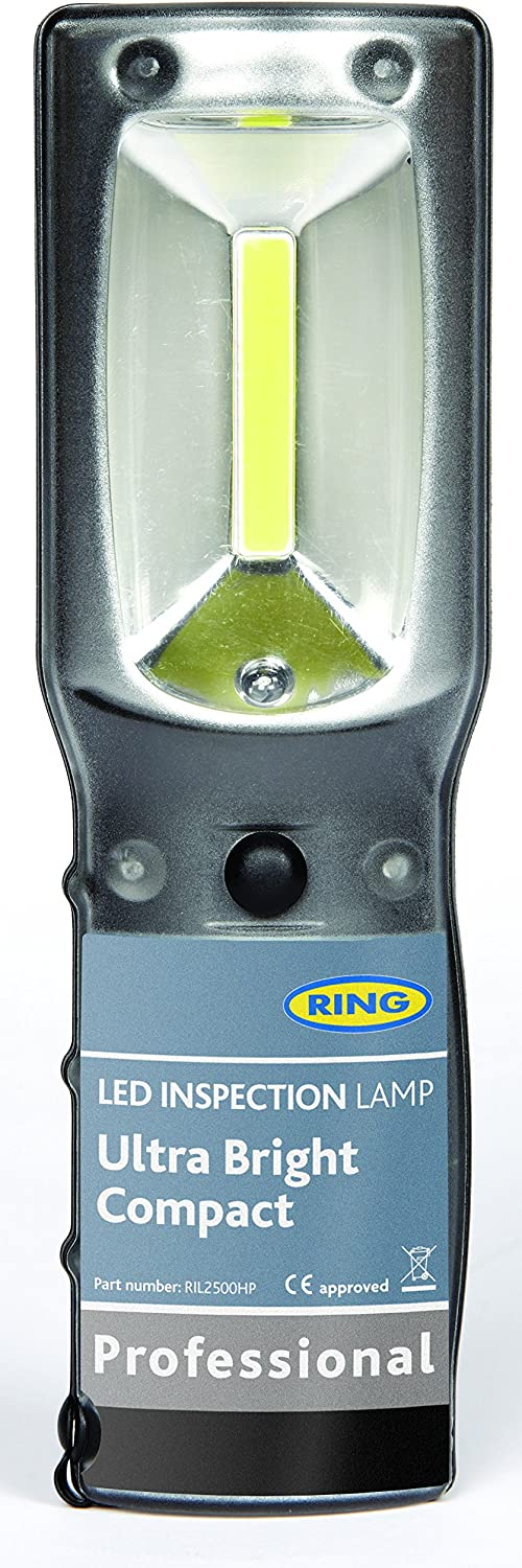 RIL2500HP Ring Ultra Bright Compact COB LED Inspection Lamp Rechargeable Battery