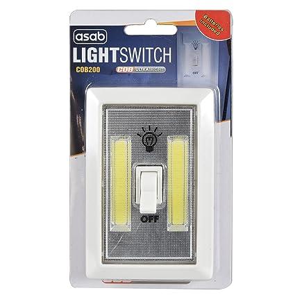 Asab 2w Cob Led Light Switch Super Bright Portable Night Lamp