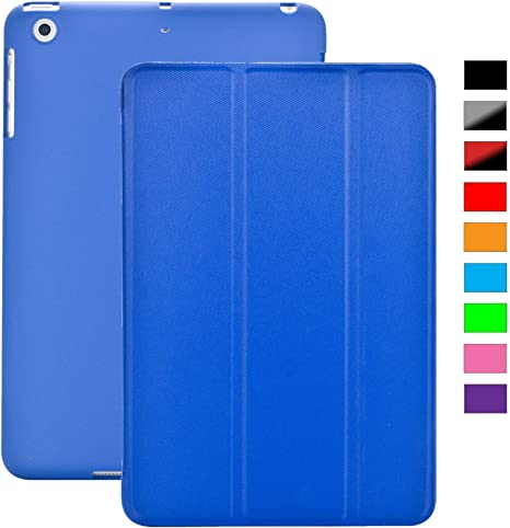 KHOMO Funda iPad Mini 1, 2, 3 - Carcasa Azul Oscura Ultra Delgada ...