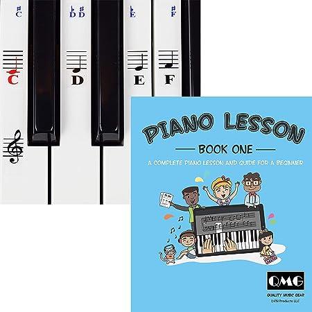Pegatinas para piano y teclado y lecciones completas de ...