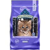 Blue Buffalo Wilderness High Protein, Natural Kitten Dry Cat Food, Chicken 5-lb