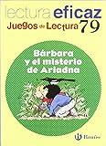 Bárbara y el misterio de Ariadna Juego Lectura (Castellano - Material Complementario - Juegos De Lectura) - 9788421650257