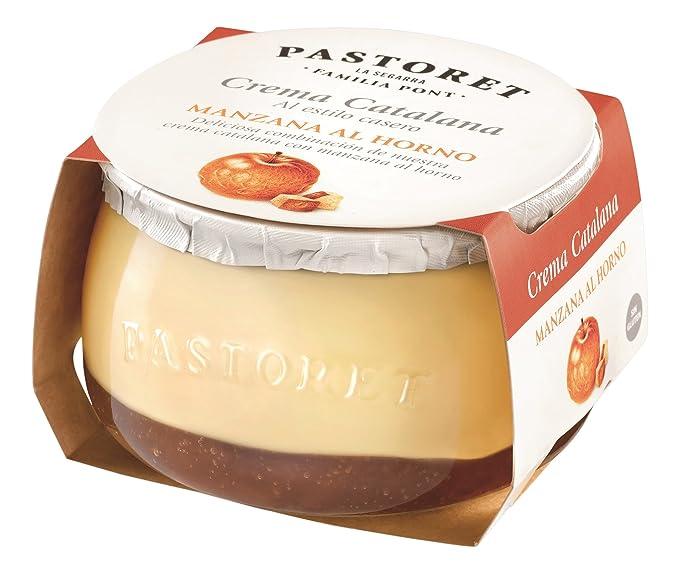 Pastoret - Crema Catalana con Manzana al Horno, 1 Unidad x 150 g