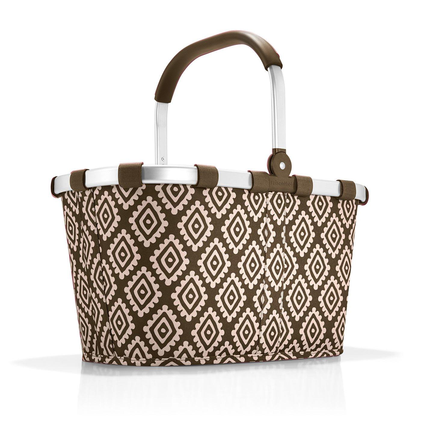 Reisenthel carrybag Cabas de Fitness, 48 cm, 22 liters, Marron (Diamonds Mocha) BK6039