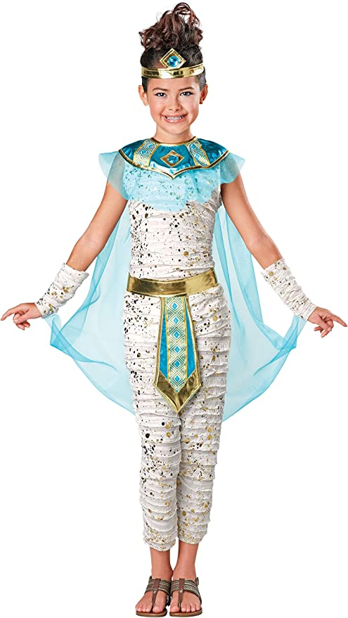 SEASONS Disfraz de Momia egipcia Real para niña de Halloween ...