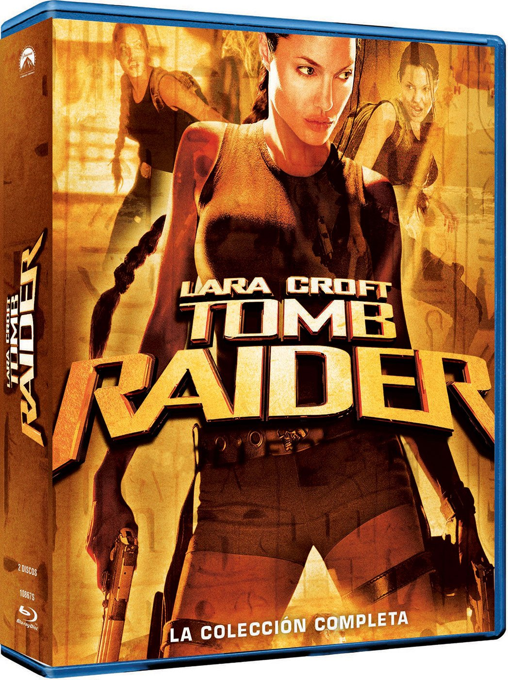 Tomb Raider 1- 2 (Edición 2017) [Blu-ray]: Amazon.es: Angelina ...