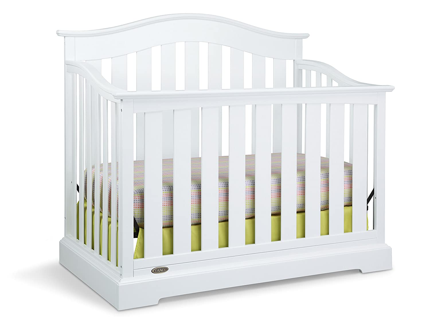 Graco Westbrook 4-in-1 Convertible Crib, White Stork Craft Manufacturing (USA) Inc. 04550-041