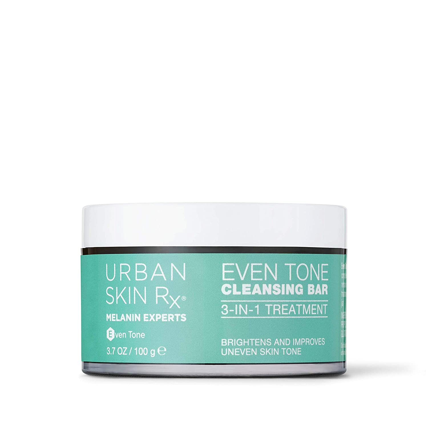 Urban Skin Rx Even Tone Cleansing Bar   3-in-1 Daily Cleanser, Exfoliator, and Brightening Mask Helps Diminish Dark Spots, Formulated with Kojic Acid, Azelaic Acid, and Niacinamide   3.7 Oz: Beauty