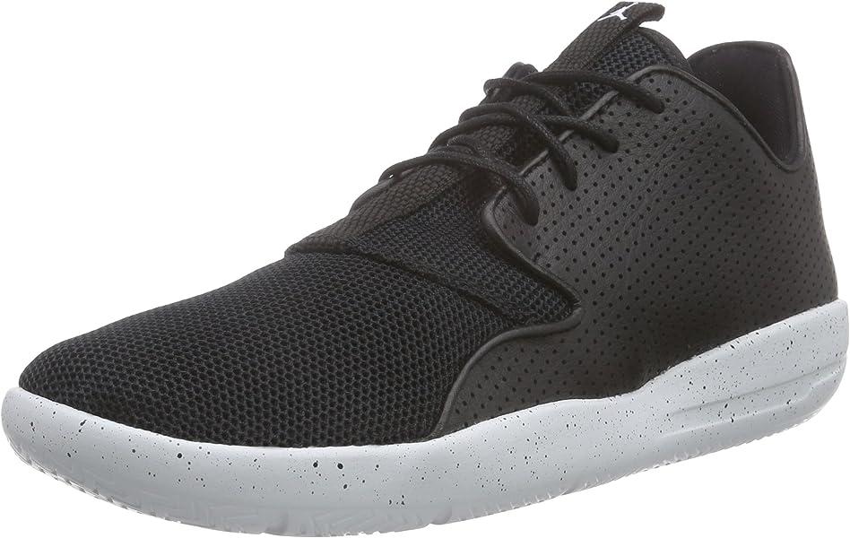 c86ff75bfe1443 Nike Jordan Kidss Jordan Eclipse BG Black White Pure Platinum Running Shoe  4 Kids