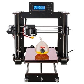 AA + inks A8 3d impresora Prusa I3 DIY Profesional LCD 100 mm/s ...